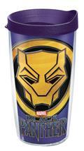 Marvel Black Panther 16Oz Tumbler W/ Purple Lid (C: 1-1-2)