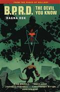 BPRD Devil You Know TP Vol 03 Ragna Rok (C: 0-1-2)