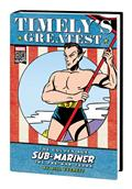 Timelys Greatest Golden Age Sub-Mariner By Everett HC Dm Var