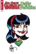 Red Sonja Vampirella Betty Veronica #1 Veronica Rmrk (C: 0-1