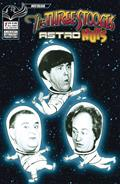 Three Stooges Astro Nuts #1 Photo B&W Ltd Cvr