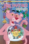 Pink Panther Pink Winter Special #1 Main Tapie Cvr