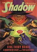 Shadow Double Novel Vol 142 5 Ivory Boxes Quarter of 8 (C: 0