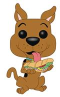 Pop Animation Scooby Doo Scooby Doo With Sandwich Vin Fig (C