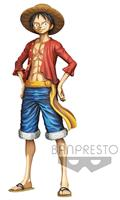 One Piece Grandista Monkey D Luffy Manga Dim Fig (C: 1-1-2)