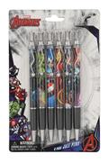 Marvel Avengers Jazz Pen 6 Piece Set (C: 1-1-2)