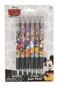 Disney Mickey And Friends Jazz Pen 6 Piece Set (C: 1-1-2)