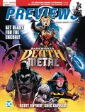 Previews #380 May 2020 * Includes A Free DC Previews