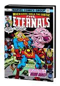 Eternals Complete Saga Omnibus HC Kirby Dm Var