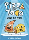 Pizza And Taco Ya GN Vol 01 Whos The Best (C: 0-1-0)