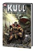 Kull Destroyer Orig Marvel Yrs Omnibus HC Siqueira Cvr