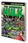 Incredible Hulk Epic Collection TP Man Or Monster New PTG