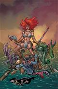 Invincible Red Sonja #1 Conner Ltd Virgin Cvr