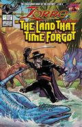 Zorro In Land That Time Forgot #1 Cvr B Puglia