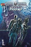 Blood Skulls And Chrome #1 (of 5) 5 Copy Kyle Hotz Var