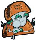 Invader Zim Krazy Taco Gir Pin (C: 1-1-2)