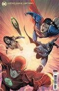 Justice League Last Ride #1 Cvr B Miguel Mendonca Card Stock Var