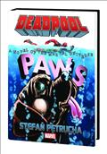 Deadpool Paws Prose Novel HC *Special Discount*