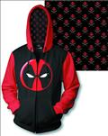 Deadpool Logo PX Zip Hoodie Lg (O/A) (C: 1-1-2)