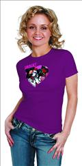 Harley Quinn Kiss By Conner Womens T/S Lg (C: 1-1-0)