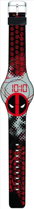 Marvel Deadpool Rubber Led Wristwatch (C: 1-1-1)