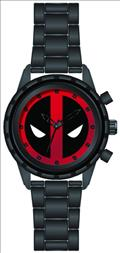 Marvel Deadpool Black Wristwatch (C: 1-1-1)