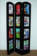 Trifold Mus Ed Comic Book Disp Frame (Net) (O/A) (C: 0-0-1)
