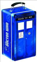 Doctor Who Tardis Shaped Tin Tote (C: 1-1-2)