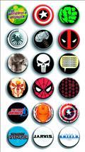 Marvel Comics Logos Ser 1 144Pc Button Asst (Net) (C: 1-1-1)