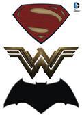 Batman V Superman Logos Car Graphics Set (C: 1-1-1)
