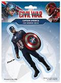 Captain America Civil War Captain America Decal (C: 1-1-1)