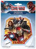 Captain America Civil War Team Iron Man Decal (C: 1-1-1)