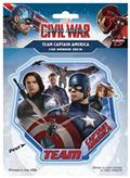 Captain America Civil War Team Cap Decal (C: 1-1-1)