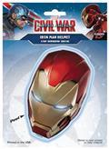 Captain America Civil War Iron Man Helmet Decal (C: 1-1-1)