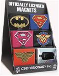 DC Heroes Metal Magnet Set Asst (C: 0-1-1)