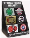 Marvel Heroes Metal Magnet Set Asst (C: 0-1-1)