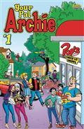 All New Classic Archie Your Pal Archie #1 Cvr B Les Mcclaine