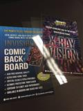 Slab Pro Qualified Invisible Comic Board Silver Size (C: 1-1