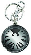 Shield Logo Pewter Keyring (C: 1-1-2)