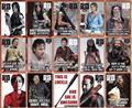 Walking Dead 48 Piece Magnet Asst (Net) (C: 1-1-0)