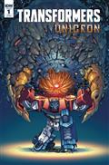 Transformers Unicron #1 (of 6) 10 Copy Incv Griffith (Net)
