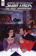Star Trek Tng Terra Incognita #1 10 Copy Incv Beals (Net)