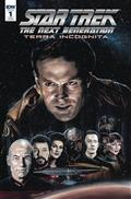 Star Trek Tng Terra Incognita #1 25 Copy Incv Woodward (Net)