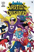 Archies Superteens vs Crusaders #2 Cvr A  Williams Connectin