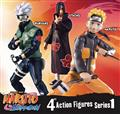 Naruto Shippuden 4In Poseable Action Figure Asst (C: 1-1-2)
