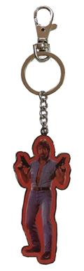 Tough Guy Invasion Usa Uzis Metal Keychain (C: 1-1-2)