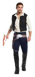 Star Wars Han Solo Male Costume Std (Net) (C: 1-0-2)