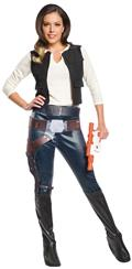 Star Wars Han Solo Female Costume Lg (Net) (C: 1-0-2)