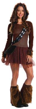 Star Wars Chewbacca Female Costume Lg (Net) (C: 1-0-2)