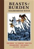 Beasts of Burden HC Vol 02 Neighborhood Watch (C: 0-1-2)